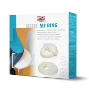 Sissel Sit Ring Pressure Relief Cushion Post-Natal Pregnancy + Cover Round BNIB