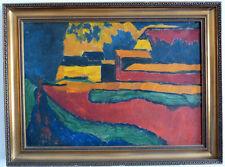 Soir humeur du ferme, Expressionist, 1. moitié 20. JH.