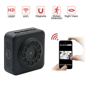 HD 1080P Kamera IP Mini WIFI WLAN Überwachungkamera Nachtsicht Spycam Camera DHL