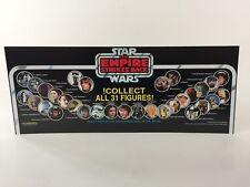Lote Vintage Star Wars Esb recoger todos los 31 Figuras Tienda de tienda Encabezado de pantalla