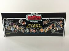 BN vintage star wars esb collect all 31 figures store shop display header