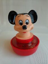 Walt Disney - Mickey Mouse - Spinning Top - Toy - 1981 - Hong Kong