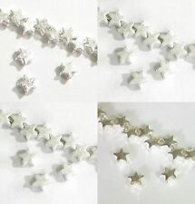 STERLING SILVER TWINKLE STAR BEAD CONNECTOR SPACER 5MM