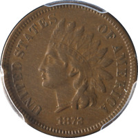 1872 Indian Cent PCGS VF30 Nice Eye Appeal