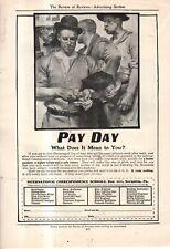 1905 J.C. Leyendecker Original Pay Day ad - International Correspondance School