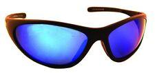 New Sea Striker Sunglasses Bad Barracuda Blk Frame/Blue Mirror 261