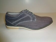 Steve Madden Size 7.5 STOKER Gray Suede Lace Up Oxfords New Mens Shoes