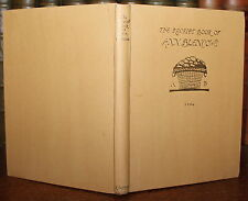 1925 The Receipt BOOK of Mrs Anne BLENCOWE Recipe AD 1694 Numbered LTD Edition