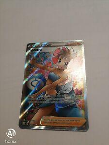 Carte Pokémon Spectra Dresseur Full Art 161/163  Styles de Combat  FR