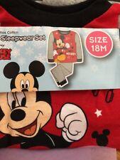 Disney  Mickey Mouse Boys Sleepweare Set Size 18 M