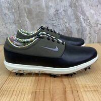 Nike Air Zoom Victory Tour NRG PGA Size 8.5 Mens Black Green Khaki Golf Shoes
