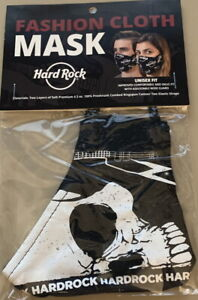 Hard Rock Cafe 2020 SKULL & HRC LOGO Face Mask Brand New & Unused