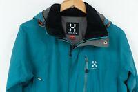 Haglofs Goretex Jacket Women Waterproof Breathable Green Size S / UK12