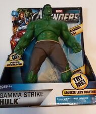 """THE AVENGERS Movie Collection Gamma Strike HULK 10"""" Action Figure Unopened"""