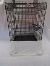 Bird cage full under the cage fabric tidy seed catcher EXTRA LARGE 30cm x 35cm