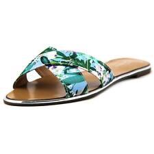 Sandali e scarpe blu sintetico per il mare da donna