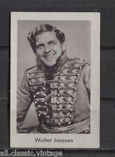 Walter Janssen Vintage Movie Film Star Trading Photo Card