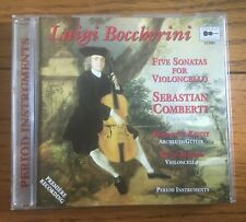Luigi Boccherini - Five Sonatas for Violoncello CD Cello Classics