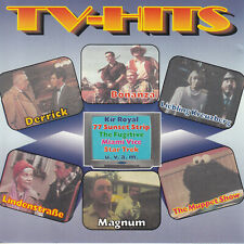 TV-Hits (Bonanza, Magnum, Miami Vice, Star Trek, Charlies Angels) CD Soundtrack