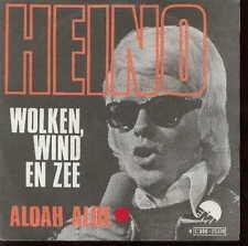 """""""HEINO 45 TOURS BELGIQUE WOLKEN WIND EN ZEE"""