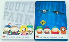 SOUTH PARK THE COMPLETE SEVENTEENTH & EIGHTHTEENTH SEASON 17 & 18 R2 DVD BOX SET