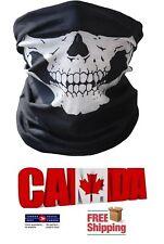 Skull Skeleton Face Mask White Cover Scarf Bike Neck Warmer Winter Sport Bandana