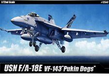 F/A-18 USN VF-143 Pukin Dogs 1/72 Academy