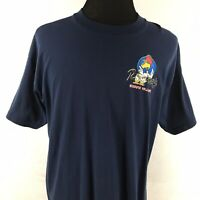 Roosters German Village Mens XL T Shirt Columbus Ohio Restaurant Vintage 1990s