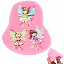 Silicone 3D Fairy Elf Fondant Cake Sugarcraft Chocolate Decorating Mold Mould