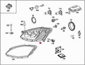 Genuine MERCEDES W221 S-CLASS W221 Lamp unit 2218201359