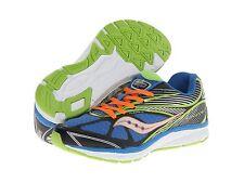 Saucony Sneakers Boys Blue/Black/Green/Orange  Lace Sneakers Boys 13 1/2 M