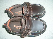 OSH KOSH BOYS / INFANTS BROWN SHOES 6M VERY GOOD CONDITION.
