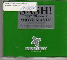 (BO248) Sash!, Move Mania ft Shannon - 1998 DJ CD