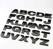 CAR AUTO BLACK 3D ARC LETTERS TOP GRADE CAREFUL READ ITEM DESCRIBE SIZE 50*50MM