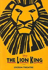 "Elton John ""THE LION KING"" Tim Rice / Julie Taymor 1999 Original London Program"