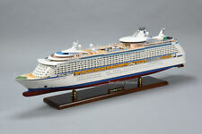 """MS Adventure Wooden Cruise Ship Model 35"""" Scale 1:350 with lights"""
