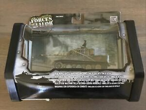 Forces Of Valor 85004 German Normandy Camo Panzer Tiger I Heavy Tank 1/72 New