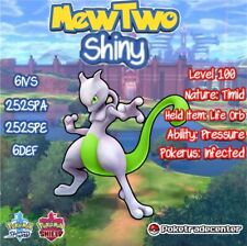 Pokemon Sword And Shield Shiny MewTwo 6Ivs Max Evs Pokerus