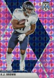 A.J. Brown 2020 Mosaic Pink Camo Prizm #190 Tennessee Titans