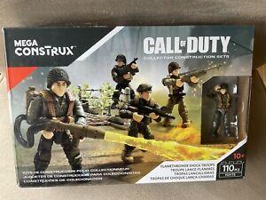 Mega Construx Call Of Duty Flamethrower Shock Troops