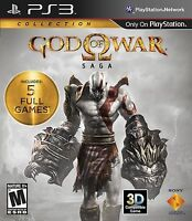God of War: Saga Collection [PlayStation 3 PS3 - GoW 1 2 3] Brand New