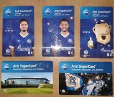 Aral Supercard FC Schalke 04 Komplettsatz 17 Cards Saison 18/19 wie Knappenkarte