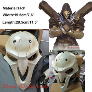 Reaper Mask Gabriel Reyes Overwatch Mask Cosplay FRP Material Games Hallowmas