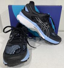 Asics Gel-Kayano 26 Women's Size 7.5 Black/Blue Athletic Running Shoes X5-1662