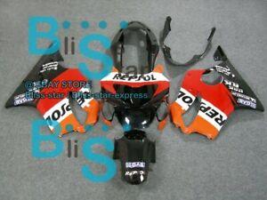 Racing-look INJECTION Fairing Bodywork Kit Fit  CBR600F4 1999-2000 06 B2