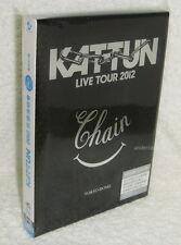 KAT-TUN LIVE TOUR 2012 CHAIN TOKYO DOME Taiwan Ltd 2-DVD+40P booklet