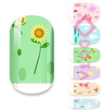 Nail Wraps Art Sticker Aufkleber Finger Nagel Folie Design Jahreszeiten Sommer