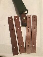 SKS 7.62 Rifle - 5 Pair -  NEW/ UNISSUED Chinese / Norinco Sling Leather Tabs