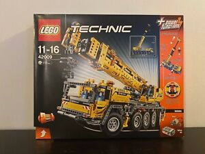 LEGO Technic Mobile Crane 42009 MK II Container Stacker Truck NEW SEALED RETIRED