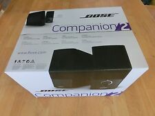 BOSE COMPANION 2 SERIES III BLACK COMPUTER SPEAKER SYSTEM